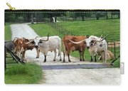 Texas Cattle Guard Carry-all Pouch