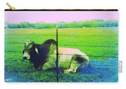 Texas Cattle Verde Carry-all Pouch
