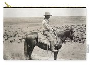 Texas: Cowboy, C1908 Carry-all Pouch