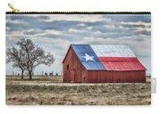 Texas Flag Barn #1 Carry-all Pouch