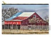 Texas Flag Barn #6 Carry-all Pouch