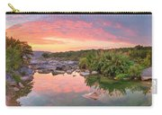 Texas Hill Country Morning Along The Pedernales 2 Carry-all Pouch