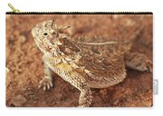 Texas Horned Lizard Carry-all Pouch