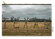 Texas In Tree Branches Carry-all Pouch