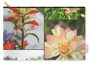 Texas Indian Paintbrush Collage Carry-all Pouch