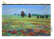 Texas Landscape Bluebonnet Indian Paintbrush Explosion Carry-all Pouch