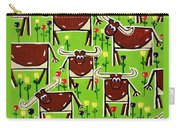 Texas Longhorn Herd Carry-all Pouch