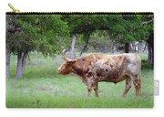 Texas Longhorn Steer Carry-all Pouch