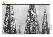Texas: Oil Derricks, C1901 Carry-all Pouch