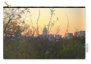 Texas State Capital From Far East Austin Carry-all Pouch