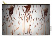 Texture Drama Dancing Flowers Carry-all Pouch