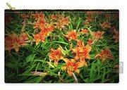 Texture Drama Field Of Tiger Lilies Carry-all Pouch
