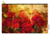 Texture Roses Carry-all Pouch