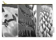 Texture Triptych Carry-all Pouch