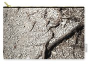 Texture With Root With Plenty Of Pebbles Carry-all Pouch