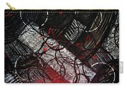 Textured Abstract Art Carry-all Pouch