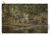 Textured Carriages Carry-all Pouch
