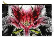 Textured Lily Carry-all Pouch