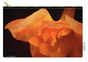 Textured Orange Carry-all Pouch