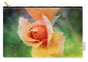 Textured Rose 3 Carry-all Pouch