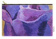 Textured Rose Carry-all Pouch