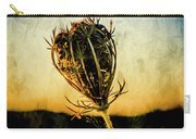 Textured Seedhead. Carry-all Pouch