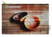 Textured Shells Carry-all Pouch