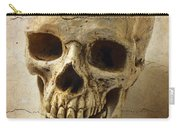 Textured Skull Carry-all Pouch