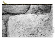 Textured Stone Wall Carry-all Pouch