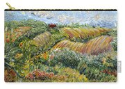Textured Tuscan Hills Carry-all Pouch