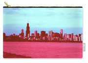 Textures Of Chicago Carry-all Pouch
