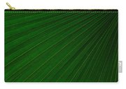 Texturized Palm Leaf Carry-all Pouch