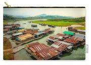 Thai Floating Village Carry-all Pouch