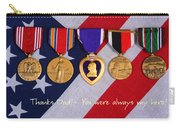 Thanks Dad - You Were Always My Hero Carry-all Pouch