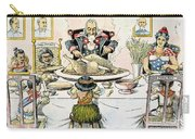 Thanksgiving Cartoon, 1898 Carry-all Pouch