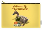 Thanksgiving Indian Duck Carry-all Pouch