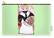 Thanksgiving Lady Pilgrim Carry-all Pouch