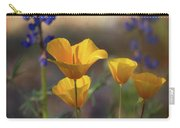 That Golden Poppy Glow  Carry-all Pouch