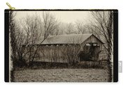 That Old Covered Bridge Carry-all Pouch