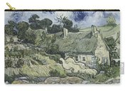 Thatched Cottages At Cordeville Carry-all Pouch