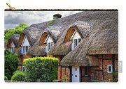 Thatched Cottages In Chawton 2 Carry-all Pouch