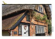 Thatched Cottages In Chawton 4 Carry-all Pouch