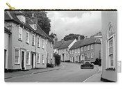 Thaxted Cottages In Black And White Carry-all Pouch