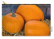 The 3 Amigo Pumpkins Expressionist Effect Carry-all Pouch