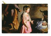 The Adoration Of The Child Carry-all Pouch