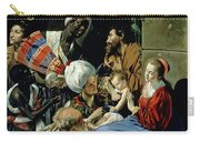 The Adoration Of The Kings Carry-all Pouch by Fray Juan Batista Maino