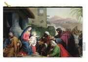 The Adoration Of The Magi Carry-all Pouch by Jean Pierre Granger