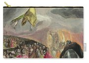 The Adoration Of The Name Of Jesus Carry-all Pouch