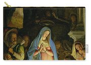 The Adoration Of The Shepherds Carry-all Pouch by Federico Zuccaro