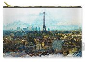 The Aesthetic Beauty Of Paris Tranquil Landscape Carry-all Pouch